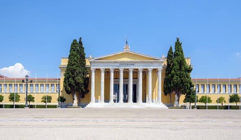 Zappeion Hall в Афинах, Греции стоковые изображения