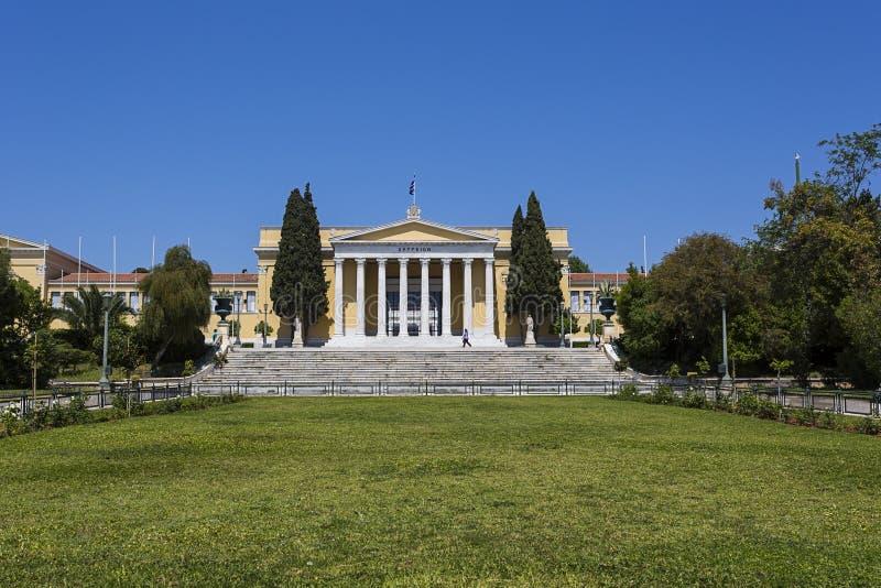 Zappeion megaron neoklasyczny budynek w Ateny obraz royalty free