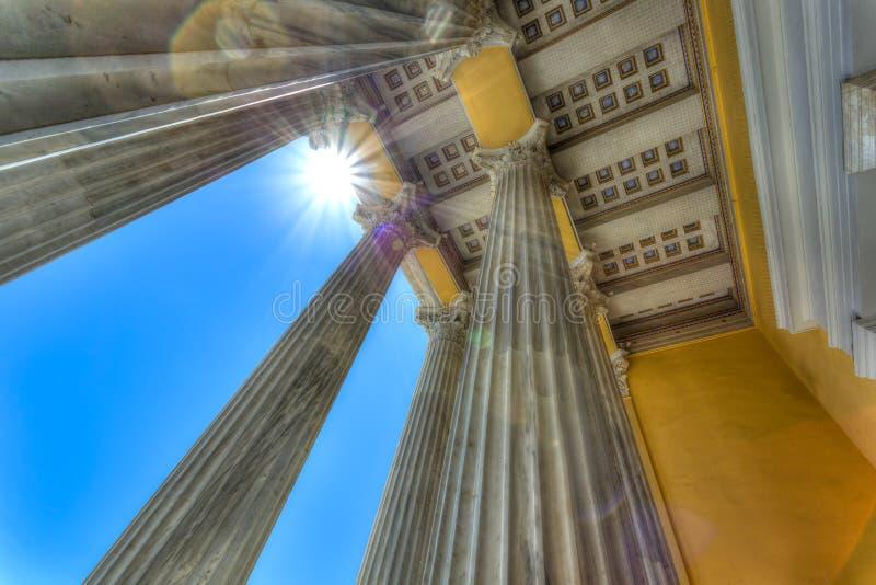 Zappeion megaron neoklasyczny budynek w Ateny zdjęcia royalty free