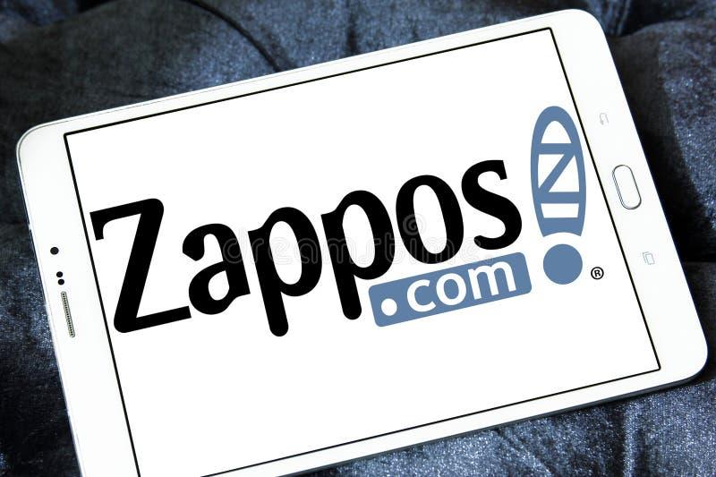 Zappos logotipo de COM fotografia de stock