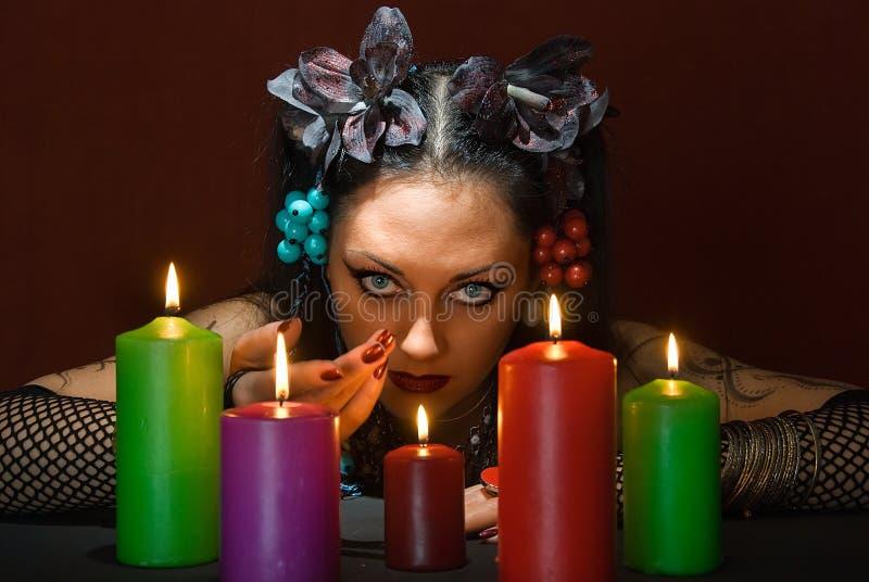 zaproszenie magia fotografia stock