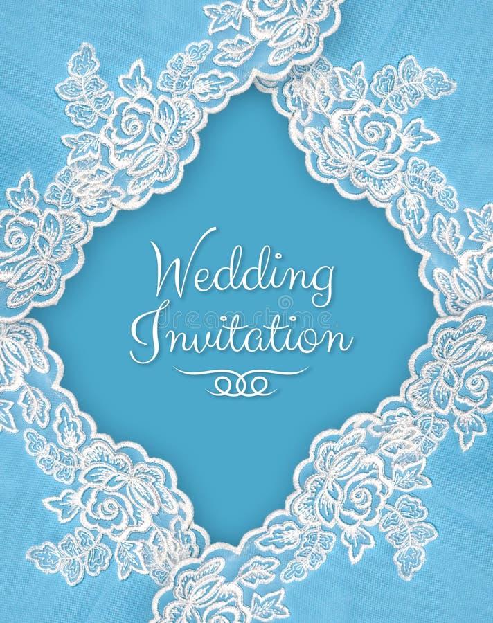 Zaproszenie, powitanie lub ślubna karta, ilustracja wektor