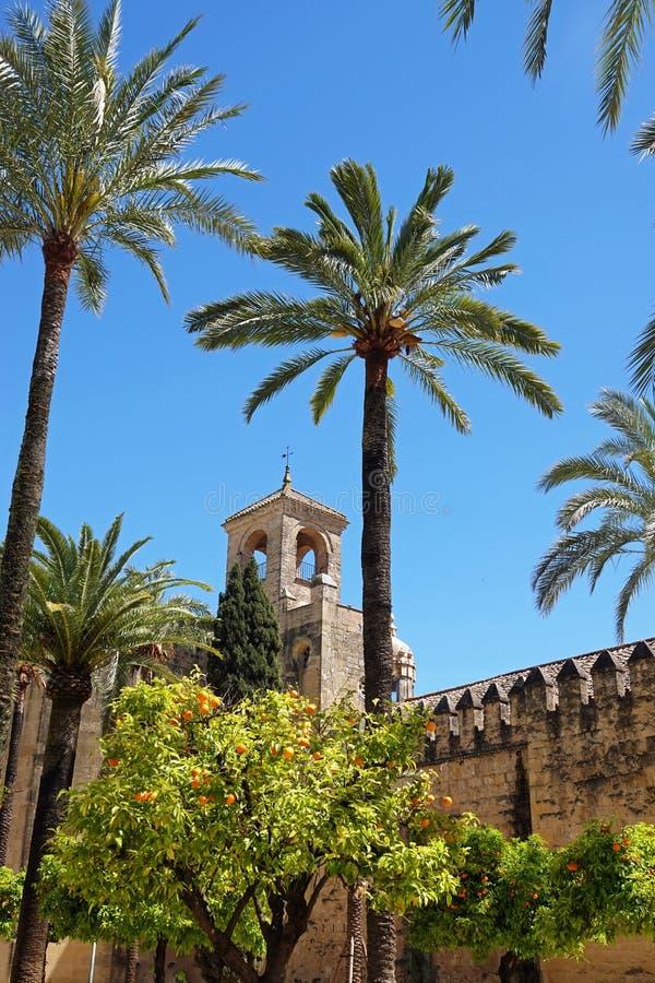 ZAR de Los Reyes Cristianos Alcà ¡ στην Κόρδοβα, Ισπανία στοκ εικόνα με δικαίωμα ελεύθερης χρήσης
