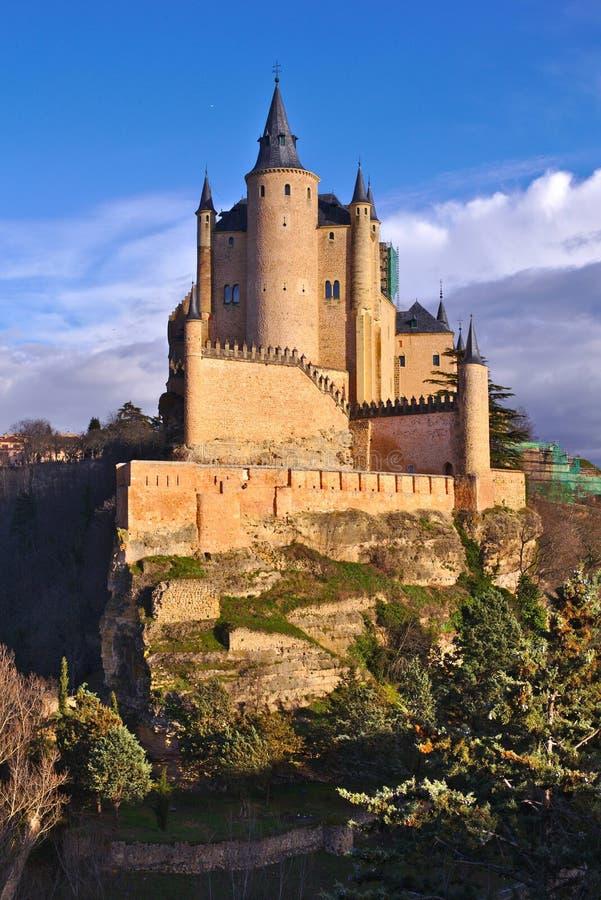 ZAR del ¡ di Alcà di Segovia (³ n, Spagna di Leà e della Castiglia) immagine stock