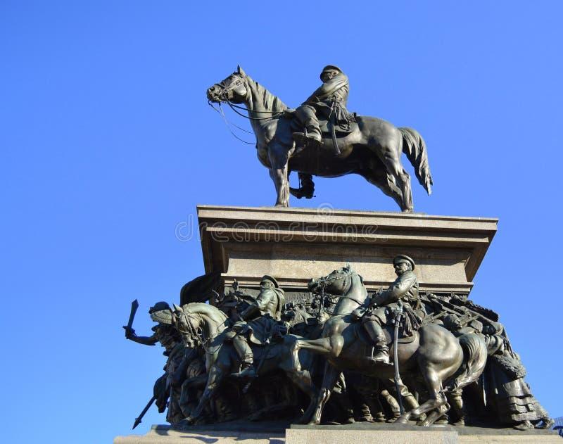 Zar Osvoboditel-Monument, Sofia, Bulgarien stockfoto