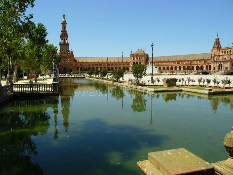 Zar van Alcà ¡ van Sevilla stock afbeelding