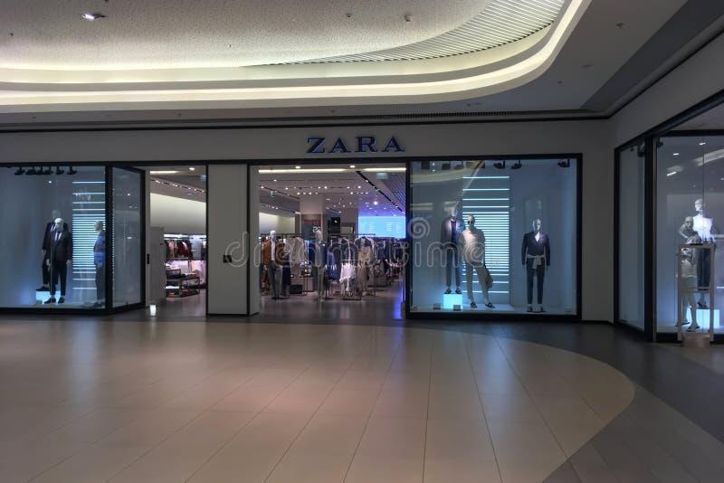 Zara Fashion Store photographie stock
