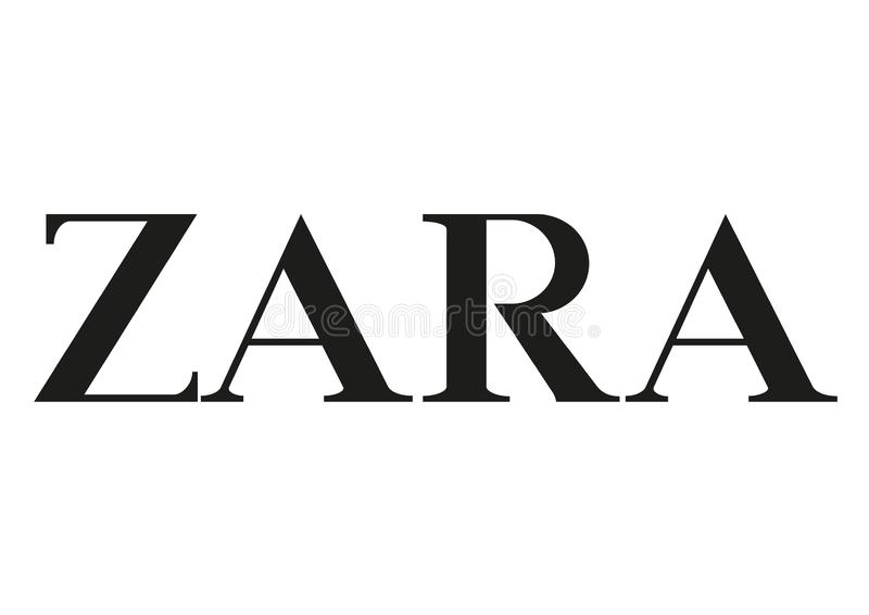 Zara Logo ilustracji