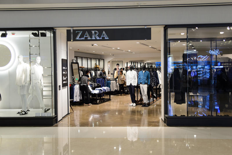 Spanish clothing store zara