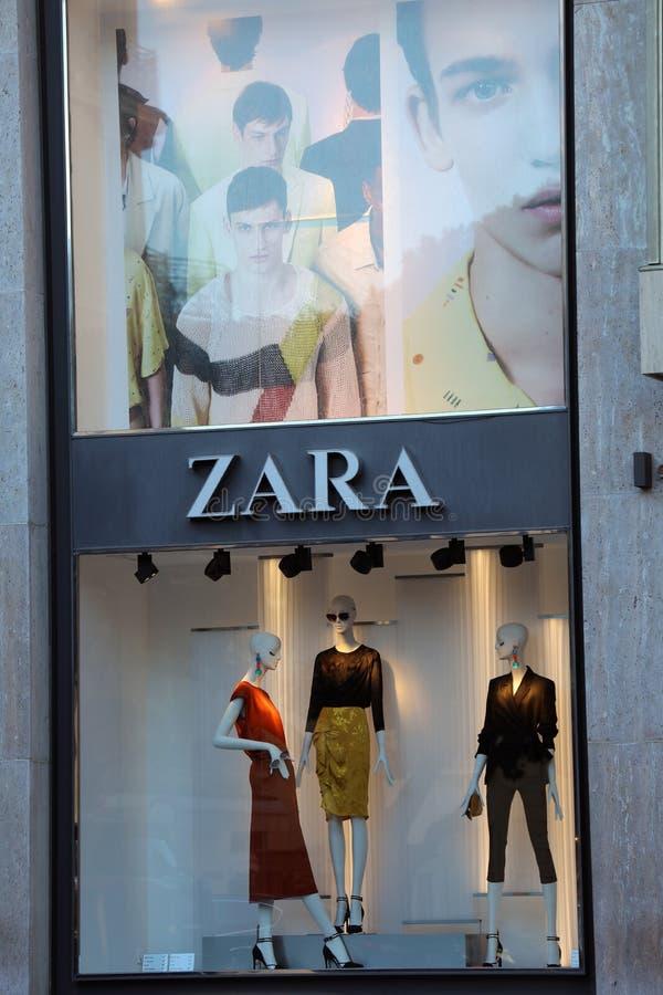 Zara Store in Monaco royalty free stock image