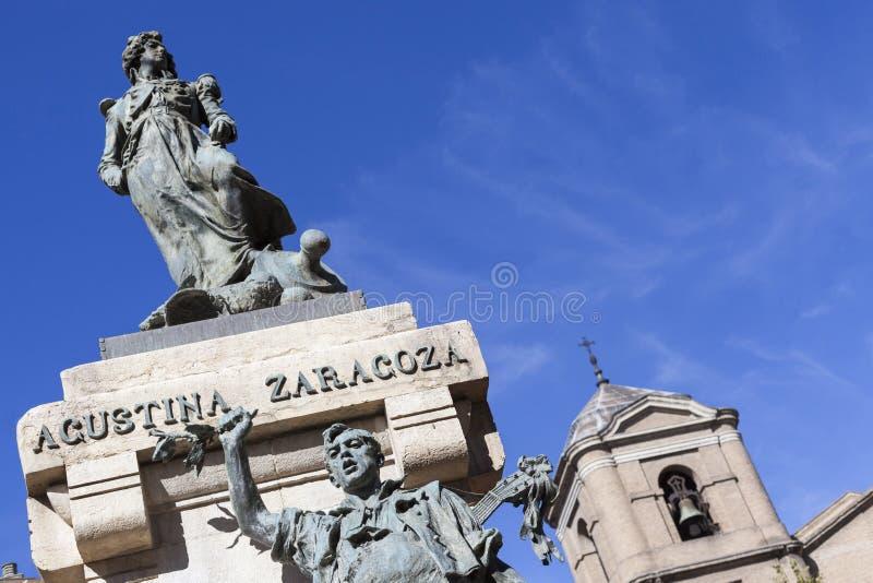 Zaragoza, Aragon, Espanha fotografia de stock