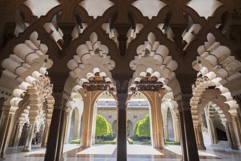 Zaragoza, Aragon, Hiszpania zdjęcia stock