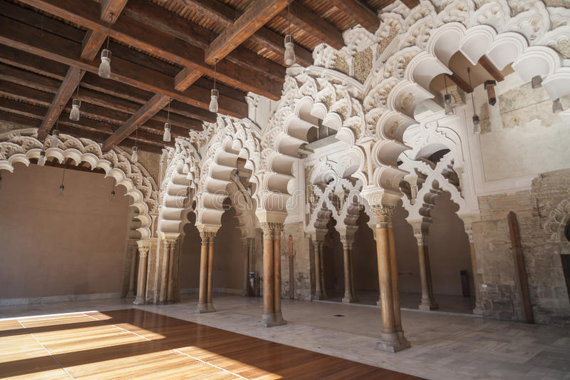 Zaragoza, Aragon, Hiszpania obrazy royalty free