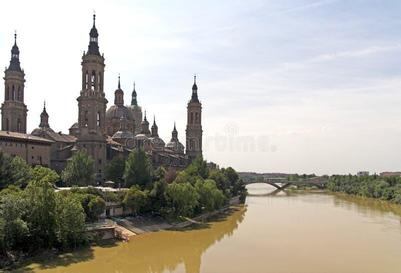 Download Zaragoza ( Spain ) stock photo. Image of pilar, ebro, spain - 747130