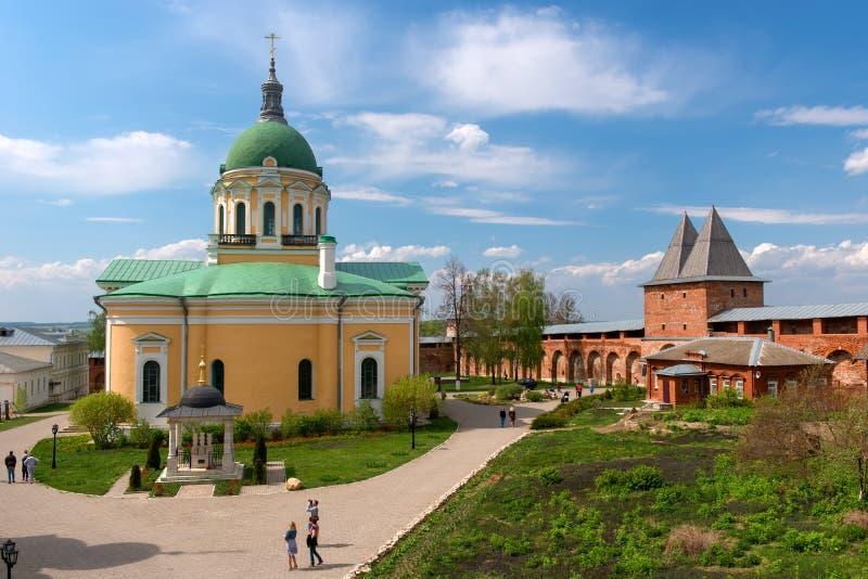 ZARAYSK, άποψη του καθεδρικού ναού του αποκεφαλισμού του John ο βαπτιστικός στοκ εικόνα με δικαίωμα ελεύθερης χρήσης
