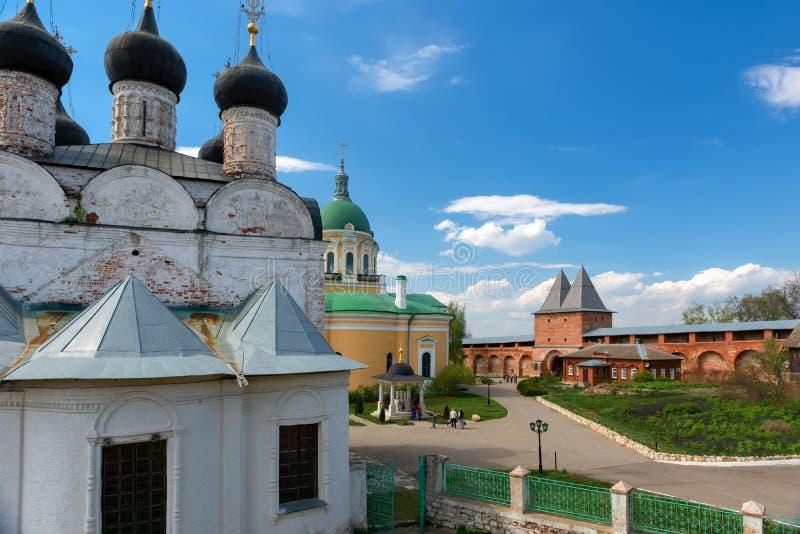 Zaraysk Κρεμλίνο στοκ εικόνα με δικαίωμα ελεύθερης χρήσης