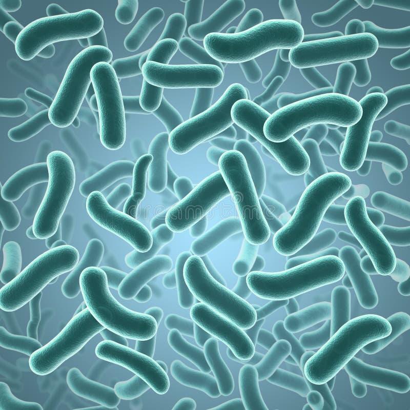 Zarazki i bakterie ilustracji