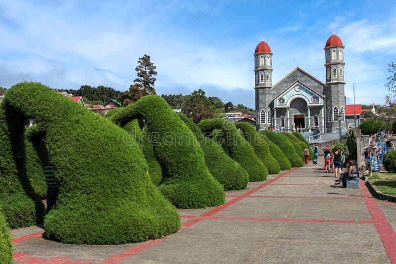 Zarcero, Costa Rica stock afbeeldingen