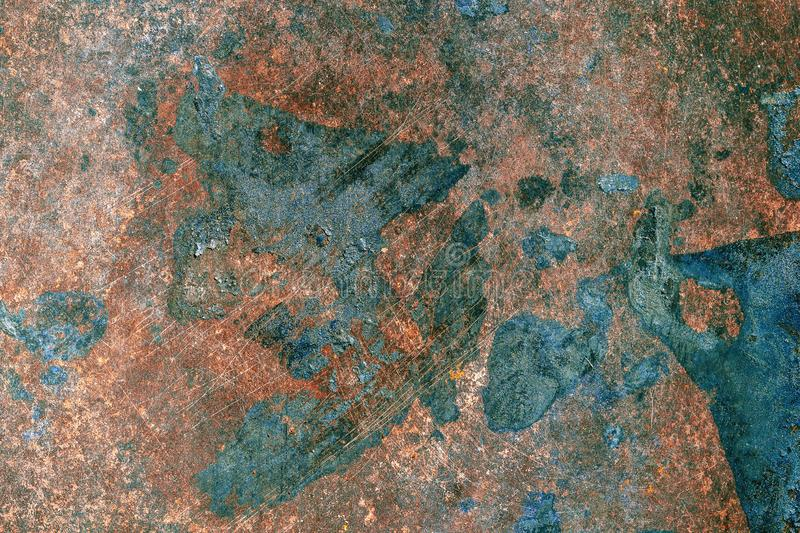 zardzewia?a powierzchni metali Textured metal powierzchnia fotografia royalty free