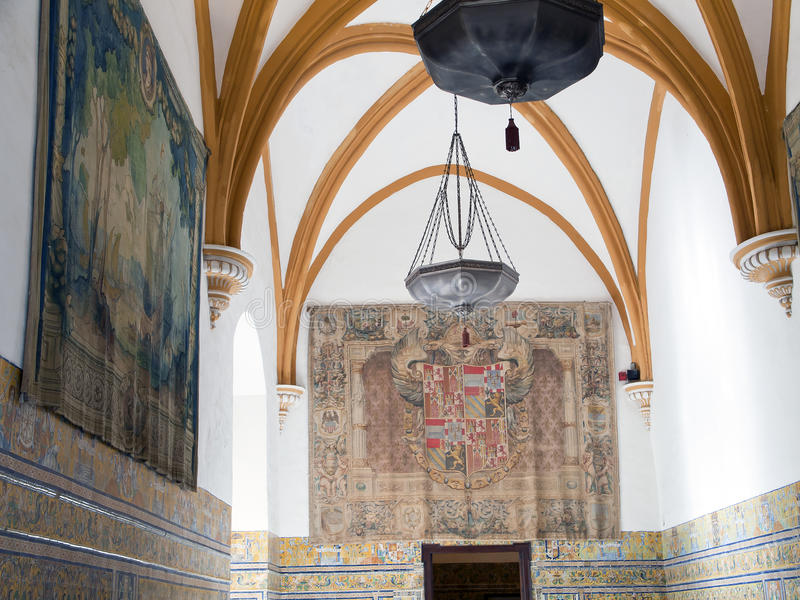 Zares del ¡ di Alcà in Siviglia immagini stock libere da diritti