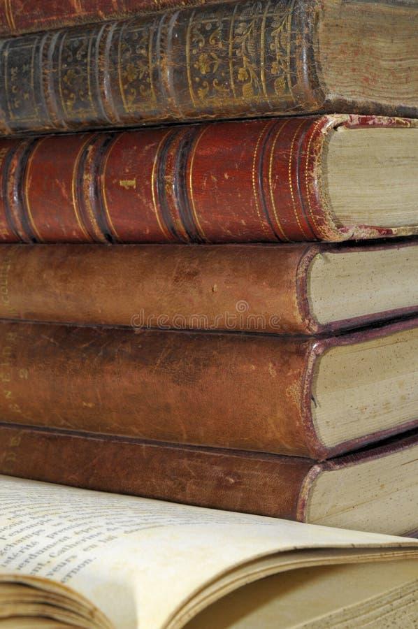 zarezerwuj biblioteki zdjęcie stock