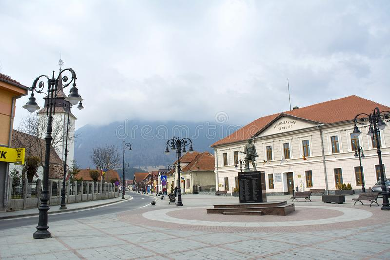 Zarnesti, Brasov imagenes de archivo