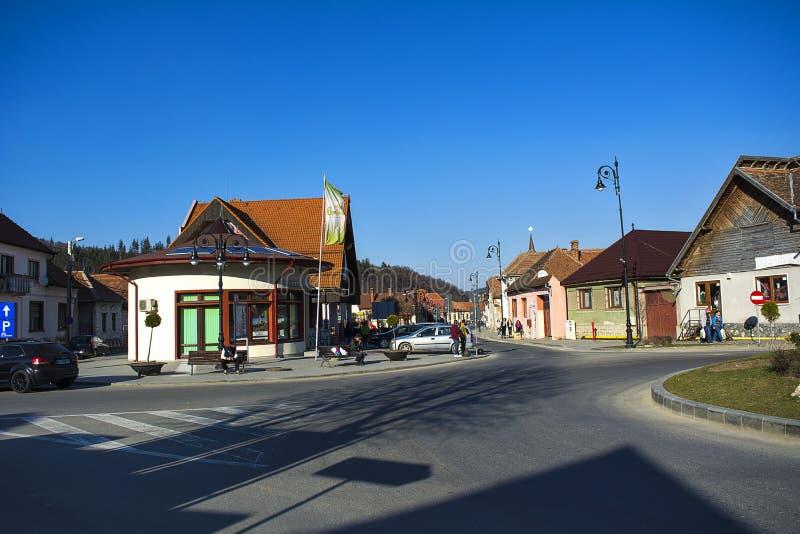Zarnesti, Brasov fotografía de archivo