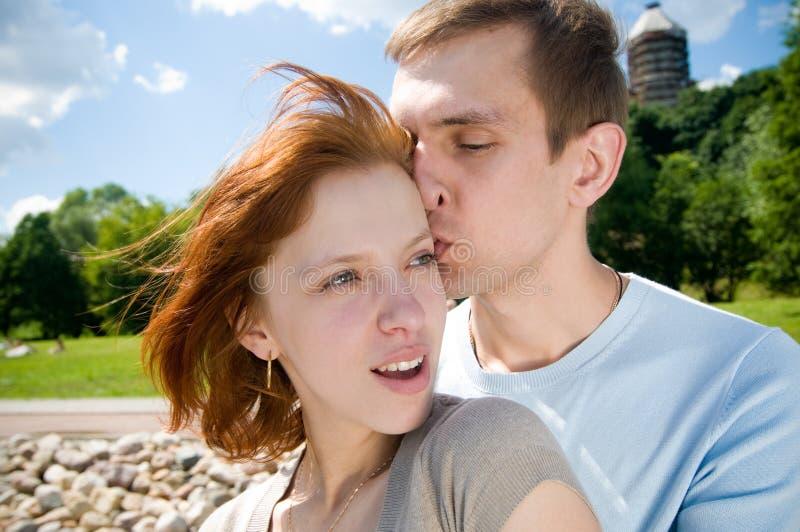 Zarte Paare stockfoto