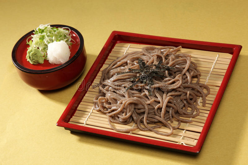 Zaru soba stock photos