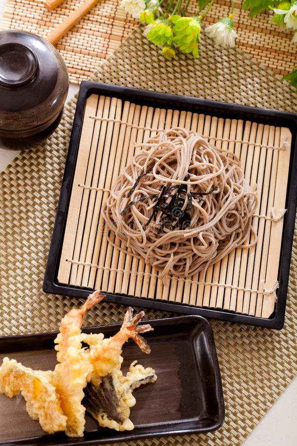 Zaru soba royalty free stock images