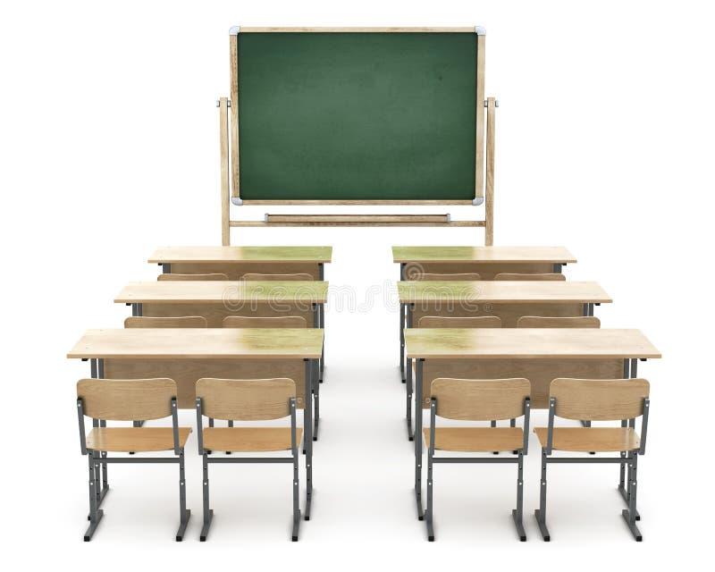 Zarządu szkoły i szkoły biurka royalty ilustracja