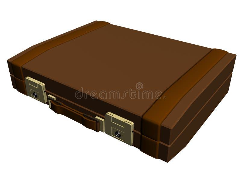 zarządzający usecase brown ilustracja wektor
