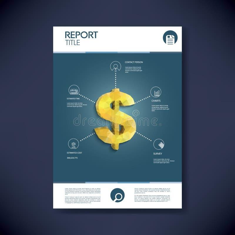 Zarządzania projektem infographics szablonu pojęcie ilustracja wektor