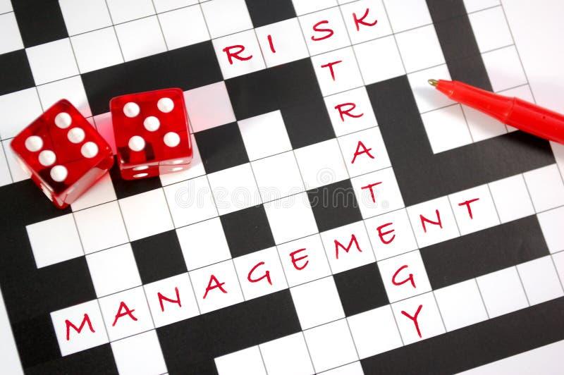 zarządzania ryzyko obraz royalty free