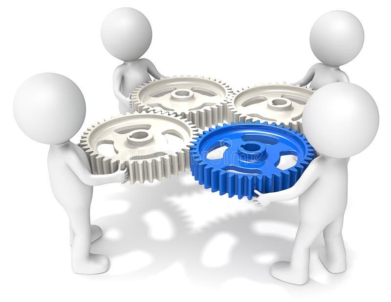 Zarządzanie Projektem. ilustracja wektor