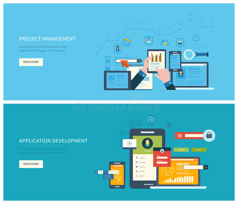 Zarządzanie projektem i podaniowy rozwój ilustracji