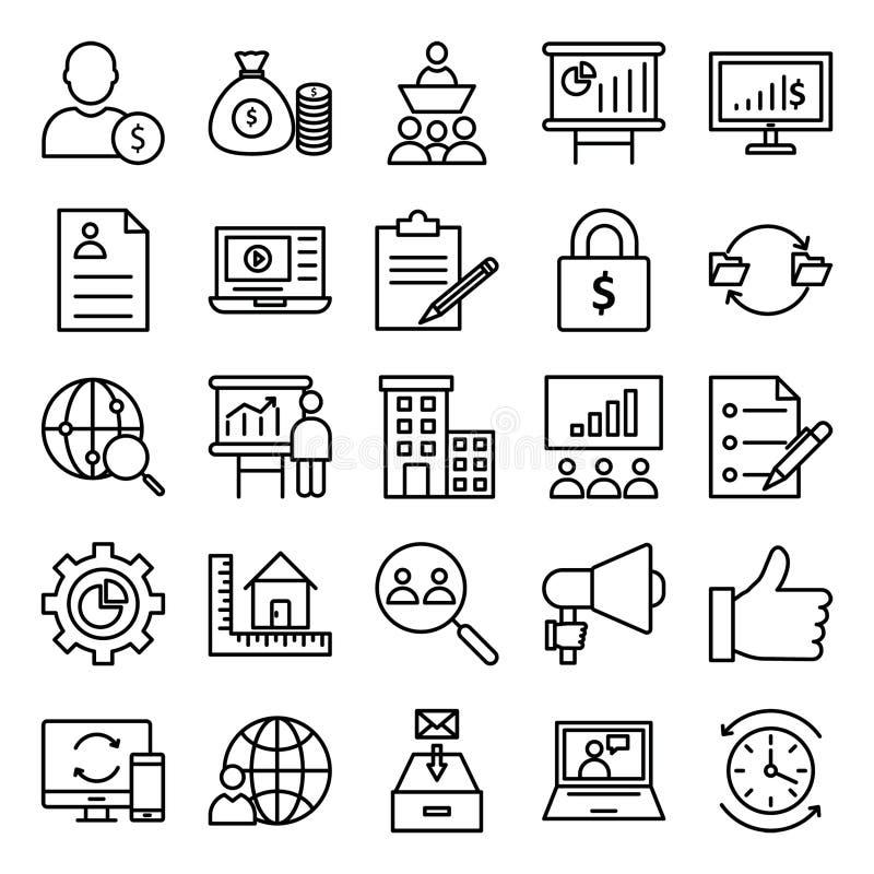 Zarządzanie projektem Odosobniona Wektorowa ikona ilustracja wektor