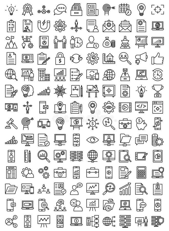 Zarządzanie projektem Odosobniona Wektorowa ikona royalty ilustracja