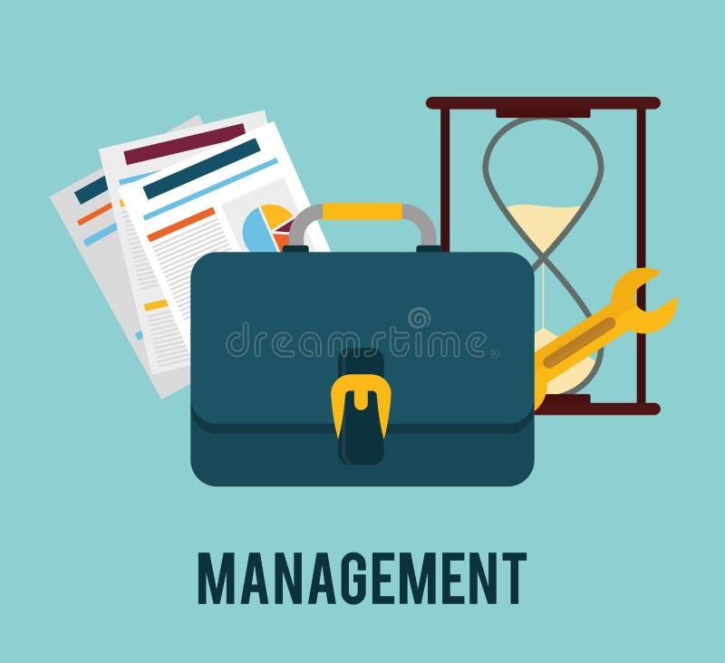 Zarządzanie przedsiębiorstwem grafika ilustracji