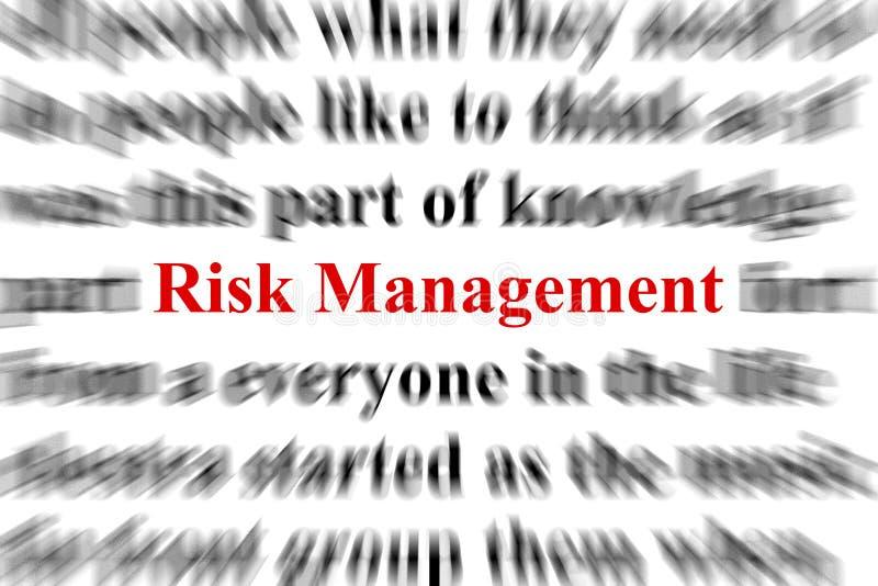 zarządzanie ryzykiem ilustracja wektor