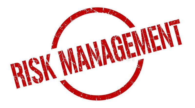 Zarządzanie ryzykiem znaczek royalty ilustracja