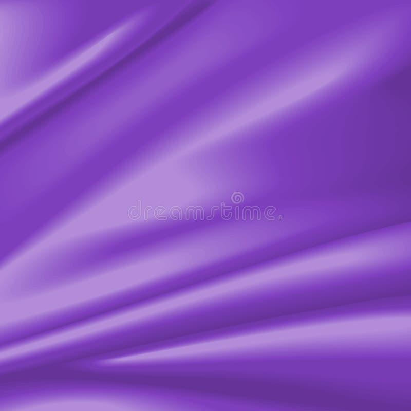 zasłona atłas deseniowy purpurowy ilustracji