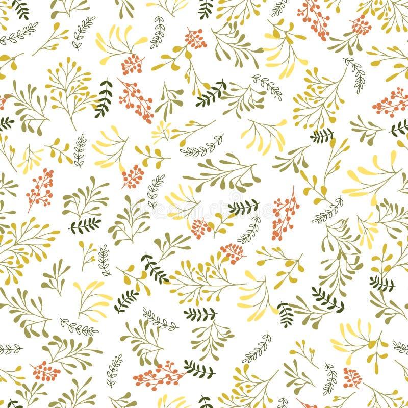 Download Zasadza bezszwowego tło ilustracja wektor. Ilustracja złożonej z trawy - 57669433