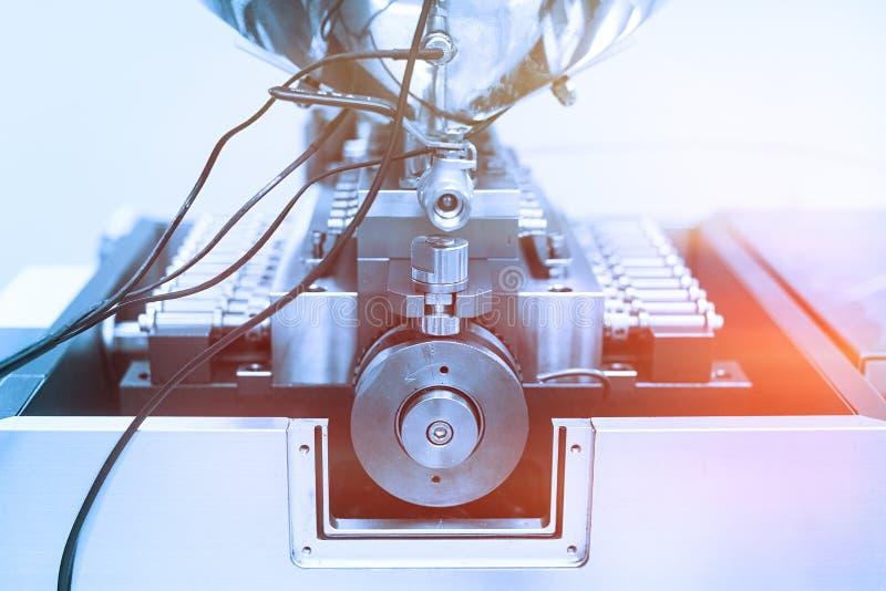 Zasadza obrazek, manufaktura, stalowe chrom maszyny, elektronika obraz stock