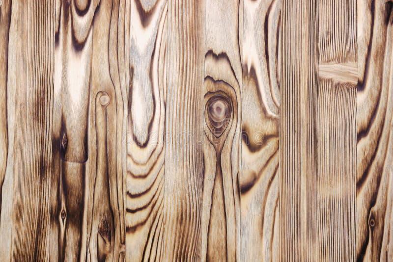 Zasięrzutna fotografia sosnowego drewna stołu tekstura Fotografia od above obraz stock