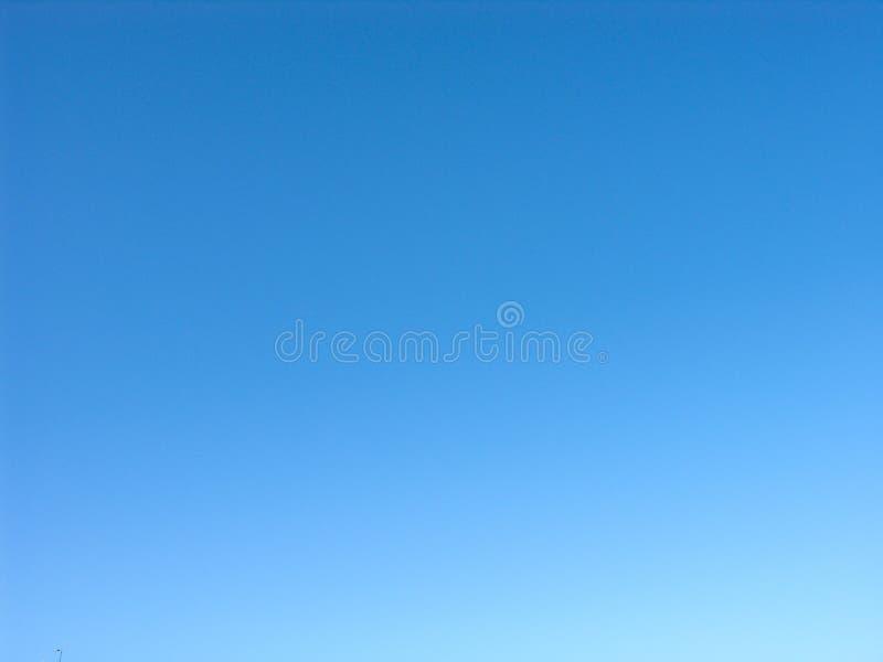 Zaskakująco jasny niebo i błękit obrazy royalty free