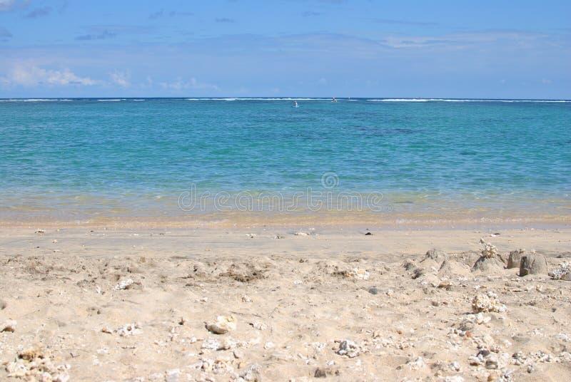 Zasoleni les Bains, plażowa spotkanie wyspa zdjęcia stock