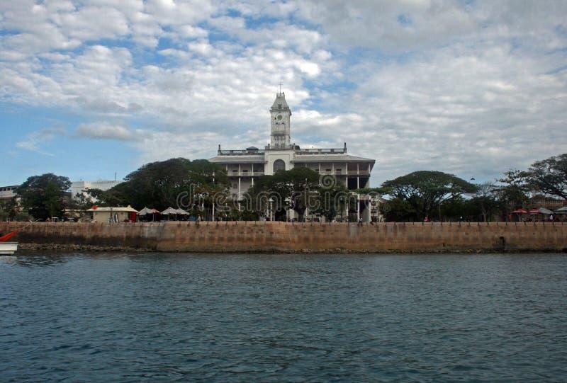Zastanawia się Zanzibar zdjęcia royalty free
