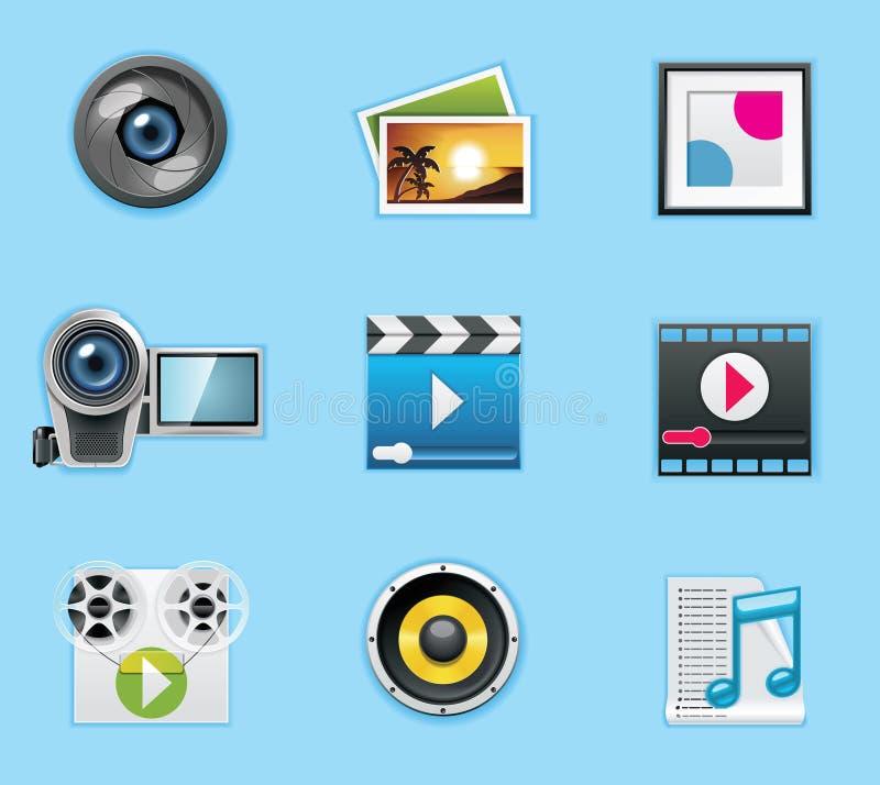 zastosowań ikon usługa ilustracji