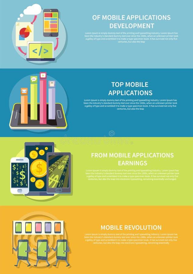 zastosowania mobilni ilustracji